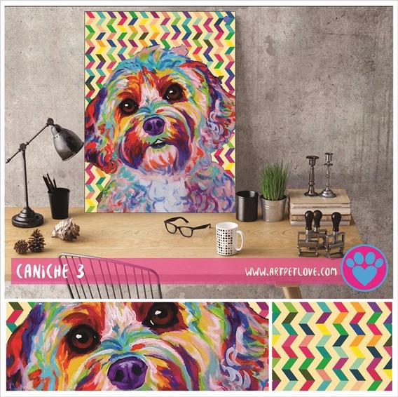 Cuadro Art Pet Love - Caniche 3.