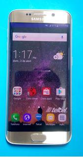 Celular Samsung Galaxy S6 Edge Dorado Envio Gratis