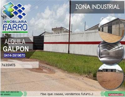Alquiler De Galpon En La Zona Industrial Al01-0021zi-ro