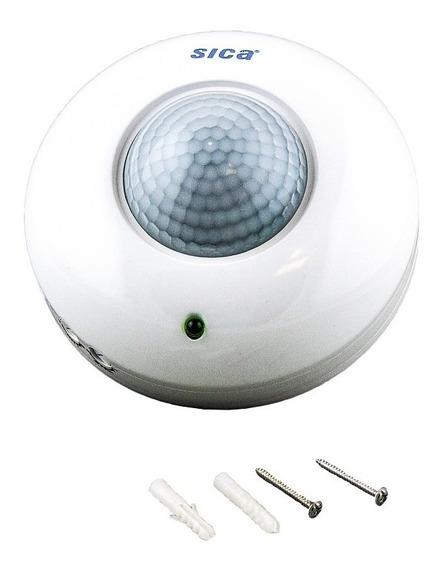 Detector De Movimiento De Techo 360º 1200 W Sica Oficial