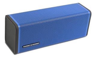 Parlante Bluetooth Portatil Frei Azul Con Funda Anti Golpes