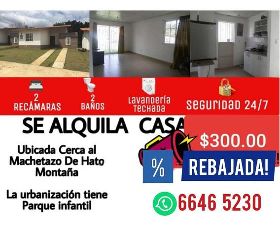 Se Alquila Casa Vacia Economica $300.00