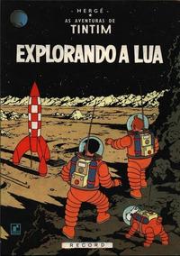 As Aventuras De Tintim - Exporando A Lua