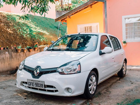 Renault Clio Expression 1.0 Hi-power Branco 2016
