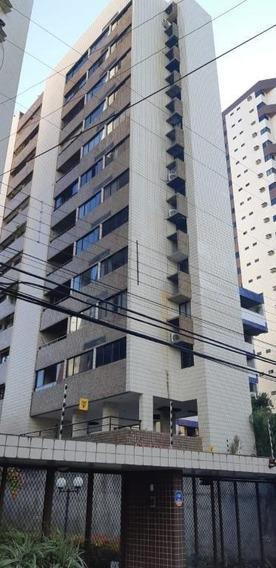Apartamento Em Aflitos, Recife/pe De 118m² 3 Quartos Para Locação R$ 2.300,00/mes - Ap588246