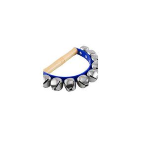 f7d51829511e Par De Pulseras De Cascabel Azul Plastico Mango Madera