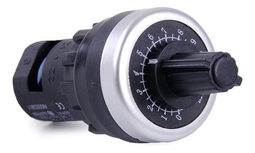 Imagem 1 de 5 de Potenciometro Rotativo 22mm  10k La42dwq-22 Para  Inversor