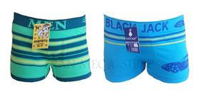 Cueca Infantil Boxer Kit Com 20 Un