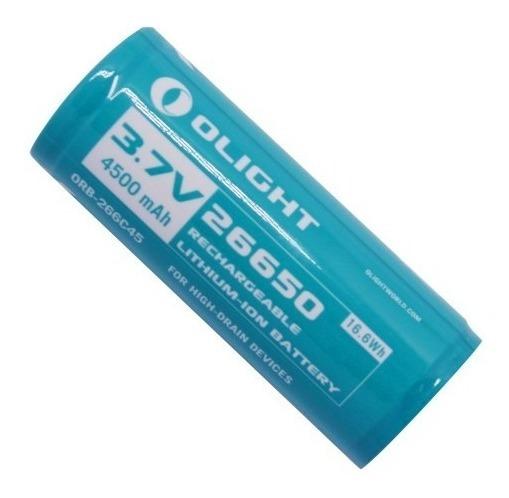 Bateria Olight Recarregável 26650 - 4500 Mah - Ol26650