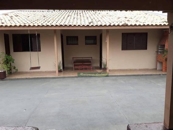 Casa Com 2 Dormitórios À Venda Por R$ 265.000 - Parque Vera Cruz - Tremembé/sp - Ca2313