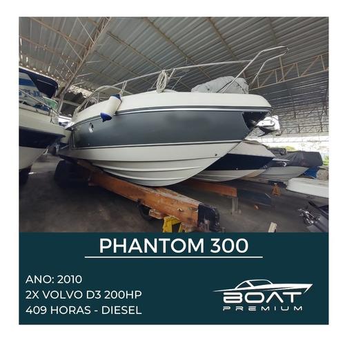 Phantom 300, 2010, 2x Volvo Penta - Focker - Real - Yacxo
