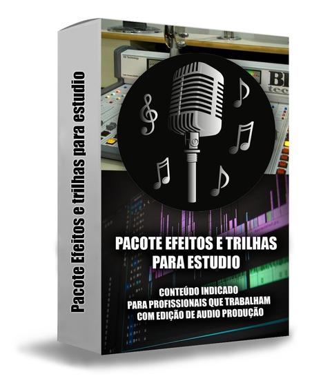 Pacote Efeitos Sonoros E Trilhas Para Locutores De Rádio