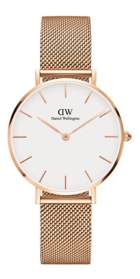 Reloj Unisex Daniel Wellington Petite 32 Melrose Rg White