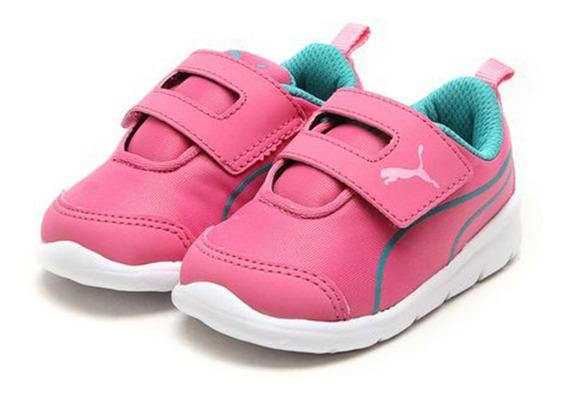 Tênis Puma Bao 3 Play Infantil Pink