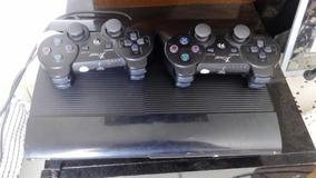 Ps3 Com 15 Jogos E 2 Controles