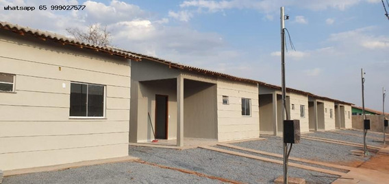 Casa Para Venda Em Várzea Grande, Novo Mundo, 2 Dormitórios, 1 Banheiro, 2 Vagas - 219_1-1307303