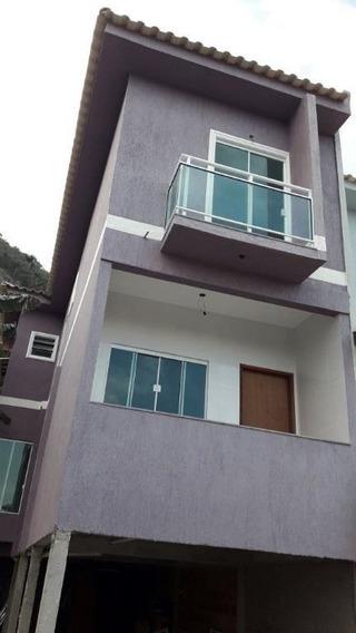 Casa Em Piratininga, Niterói/rj De 100m² 2 Quartos À Venda Por R$ 590.000,00 - Ca243986