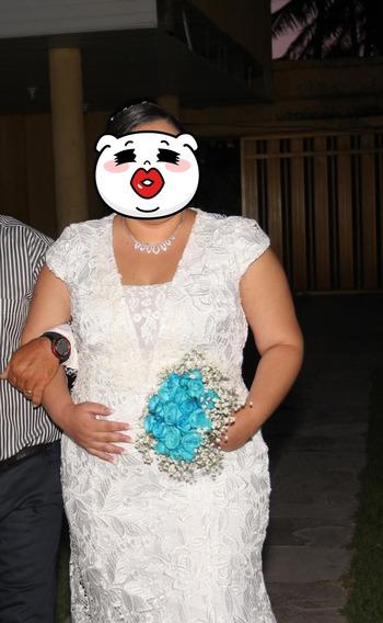 Vestido Longo Noiva Plus Size