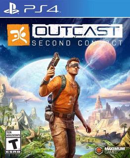 Outcast Second Contact Nuevo Fisico Sellado Ps4