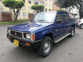 Mitsubishi L200 Campera 4x4 Mt2000cc Azul Mariana Dh