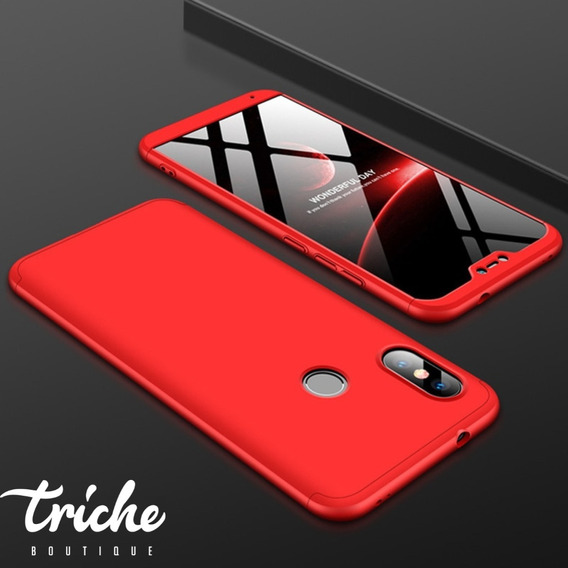 Funda 360 + Cristal Seria Colores Slim Xiaomi Mi A2 Lite