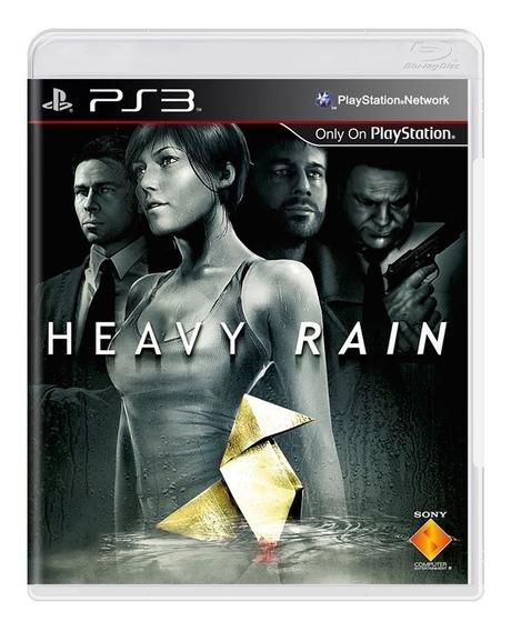 Heavy Rain Ps3 Mídia Física Pronta Entrega