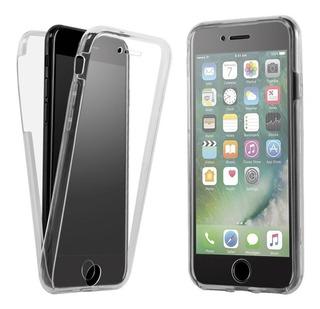 Capinha De Celular iPhone 8 Plus 360 Graus Transparente