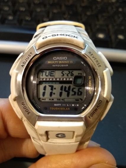 Relógio Casio Legítimo Original Gshock Solar E Atomic Shock
