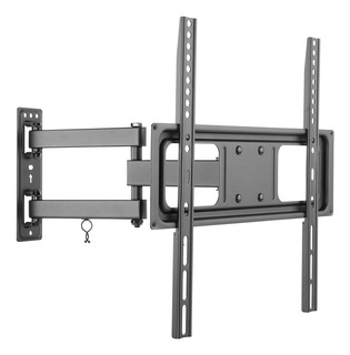 Soporte Tv Full-motion Macrotel 32-55 Pulg 35kg Cable Hdmi