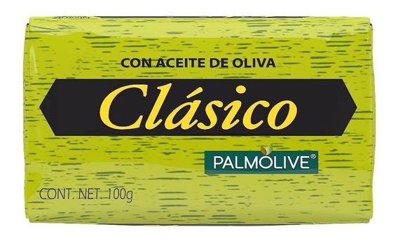 Jabón De Tocador Palmolive Clásico Aceite De Oliva 100 Gr