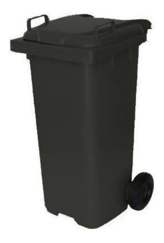 Carrinho Coletor De Lixo 120 Litros- Cores
