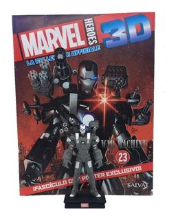 Figuras Marvel 3d Nº 23 War Machine