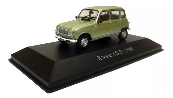 Autos Inolvidables Años 80/90 N° 17 Renault 4 Gtl 1985