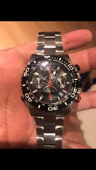 Relógio Bulova 98b212 Precisionist Uhf 262 Cronografo