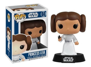 Funko Pop 2319 Star Wars Princess Leia Bobble #04 Original