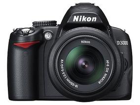 Excelente Câmera - Nikon D 3000 + Lente 18-55 - Seminova