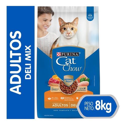 Cat Chow® Adultos Deli Mix 8 Kg