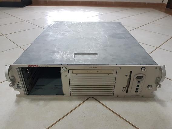 Servidor Hp Compaq Proliant Dl380 G1 P3 1ghz 1 Fonte Usado