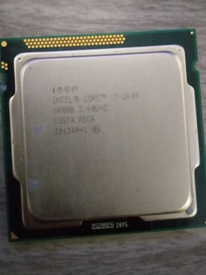 Processador I7 2600 Soquete 1155 3.4 Ghz Até 3.80 Ghz