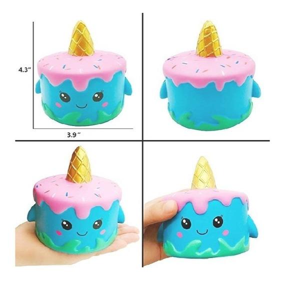 Squishys Torta Unicornio (tienda Fisica)