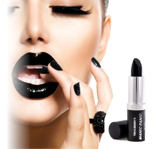 ¡ Lápiz Labial Negro Dark Black - Unidad a $12100