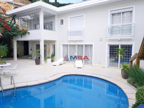 Imagem 1 de 29 de Casa À Venda Na Vila Romana, 561 M² At, Com 3 Suítes, 4 Vagas, Piscina E Espaço Gourmet. Residência Imponente Em Rua Fechada!!! - Ca1334