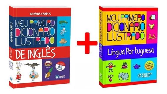Kit Meu Primeiro Dicionário Ilustrado Português + Inglês