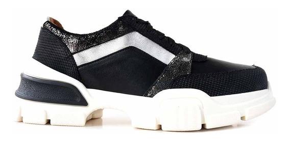 Zapatillas Urbanas Mujer Cuero Briganti Zapatos - Mczp05250