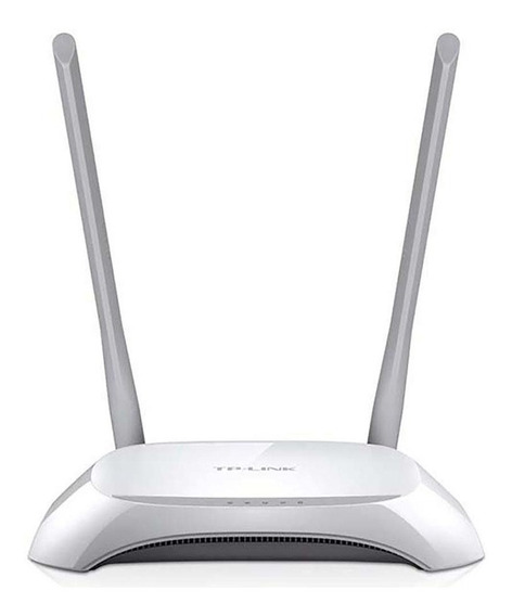 Roteador Tp-link Tl-wr840n Wireless 300mbps Com 2 Antenas