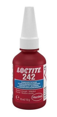 Adesivo Loctite 242 Trava Roscas Médio Torque Azul 10g