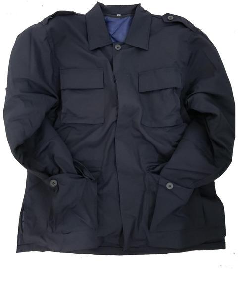 Garibaldina,campera, Rip Stop, Azul Desmontable, Policia