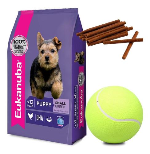 Imagen 1 de 2 de Eukanuba Cachorro Razas Pequeñas 6 Kg Con Snacks
