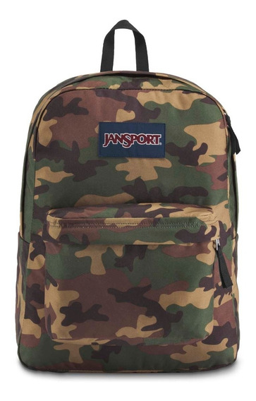 Mochila Jansport Superbreak Camuflada