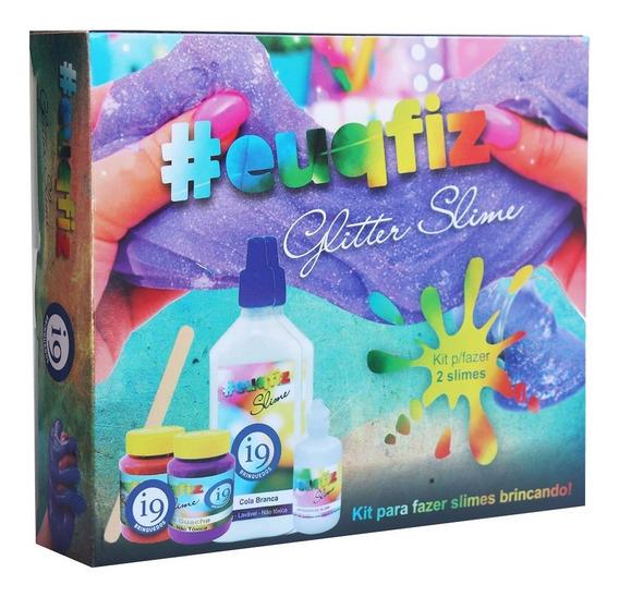 Slime Glitter - Kit 2 - Euqfiz - I9 Brinquedos